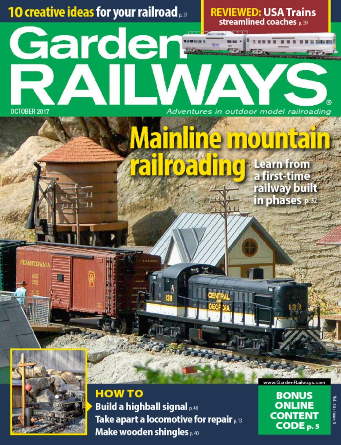 Garden Railways Magazine Subscription