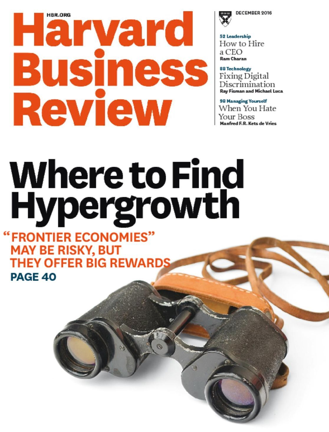 harvard business review The old, tired methods of employee performance management are broken astute organizations are taking note and doing something about it.