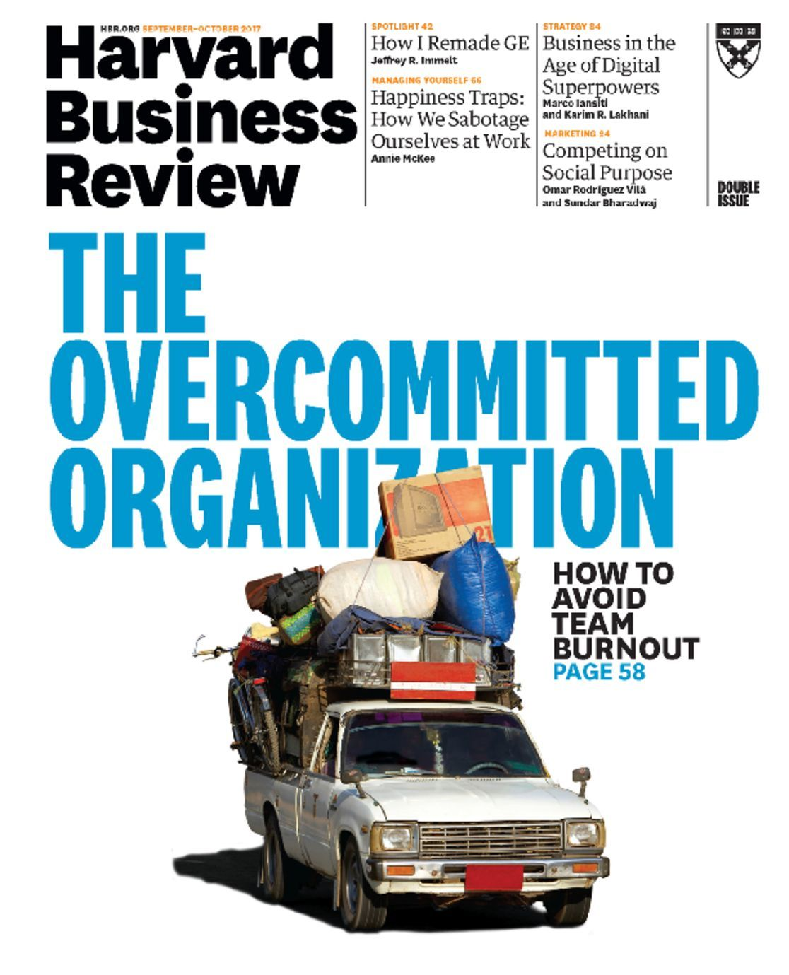 15 Articles To Help Organize Your Home For The New Year: Harvard Business Review Magazine