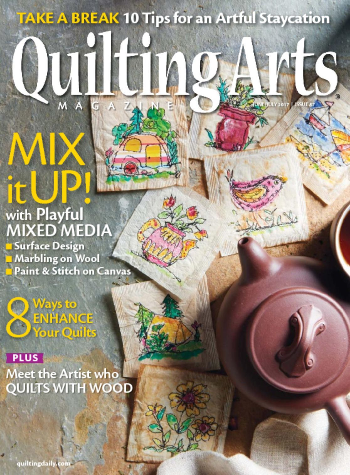 Quilting Arts Magazine-October/November 2007-Issue 29