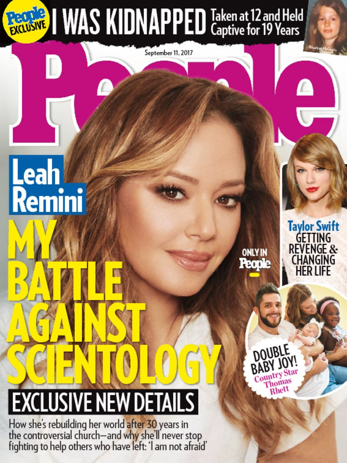 magazine issue bigotry celebrity remini discountmags september normal brags scientologist engages crave extra censorship