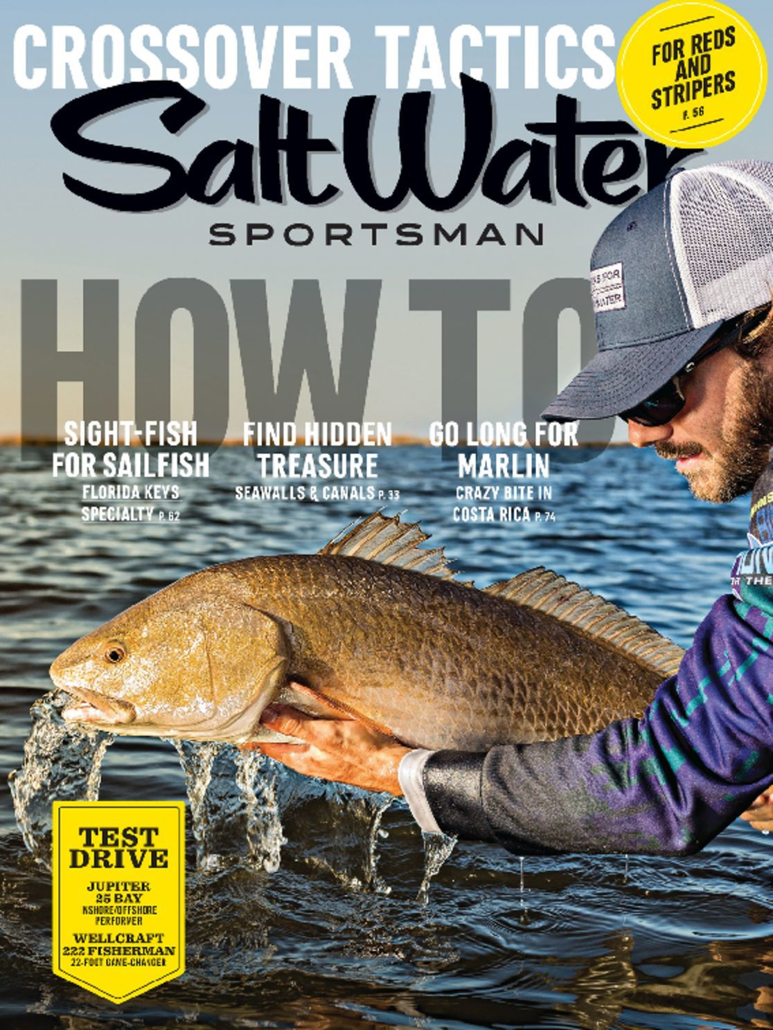 Salt water sportsman magazine a guide to saltwater for Saltwater fishing magazines
