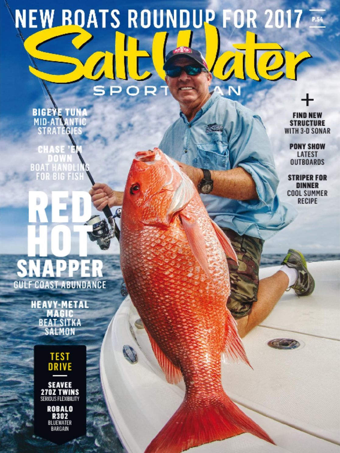 Category sports and recreation hunting and fishing for Saltwater fishing magazines