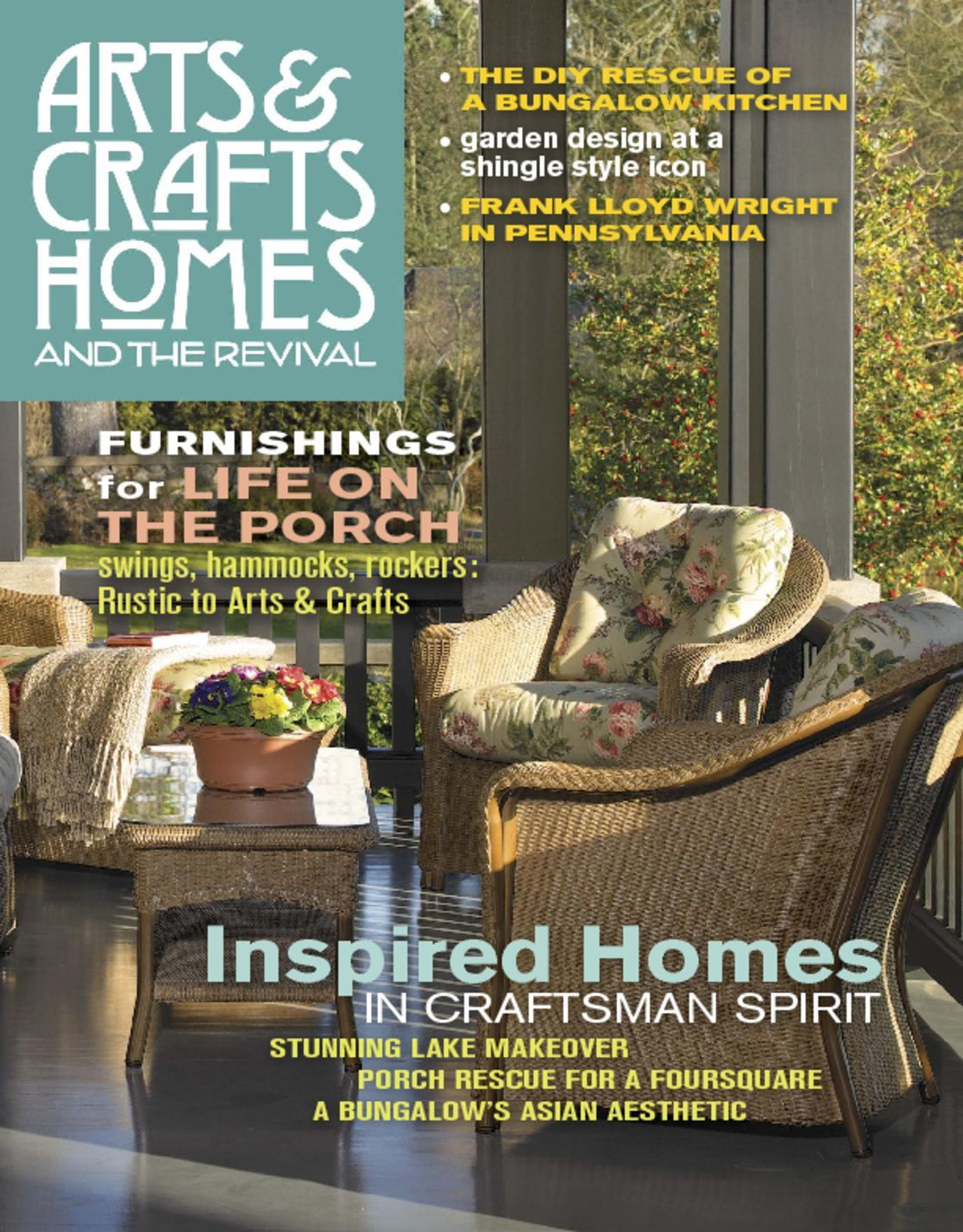 Arts and Crafts Homes Magazine Subscription