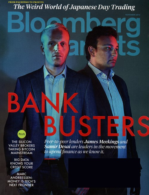 Bloomberg Markets Magazine Cover