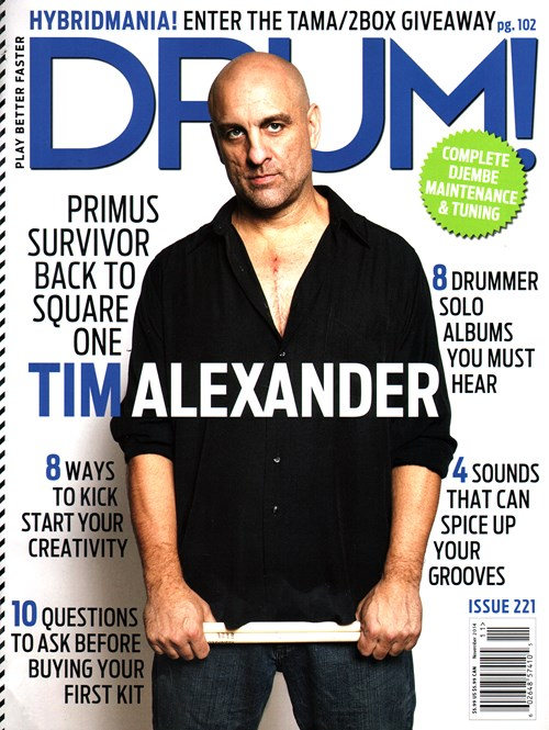 Drum Magazine Subscription