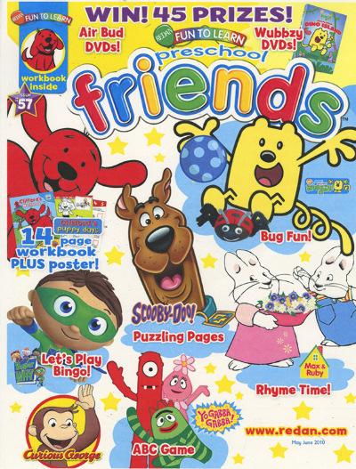 Preschool Friends Magazine Subscription