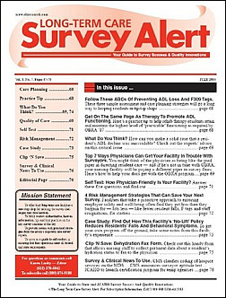 Best Price for Long-Term Care Survey Alert Subscription