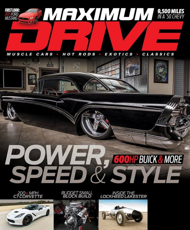 Best Price for Maximum Drive Magazine Subscription
