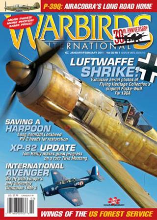 Warbirds Intl Magazine Subscription