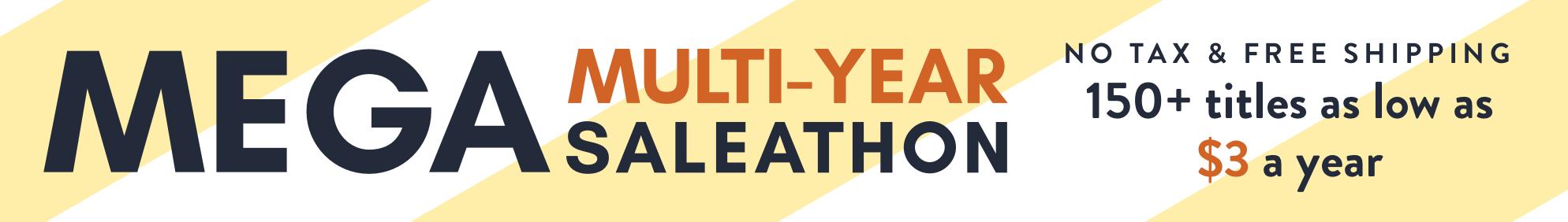 Multi-Year Sale- Aug 2017