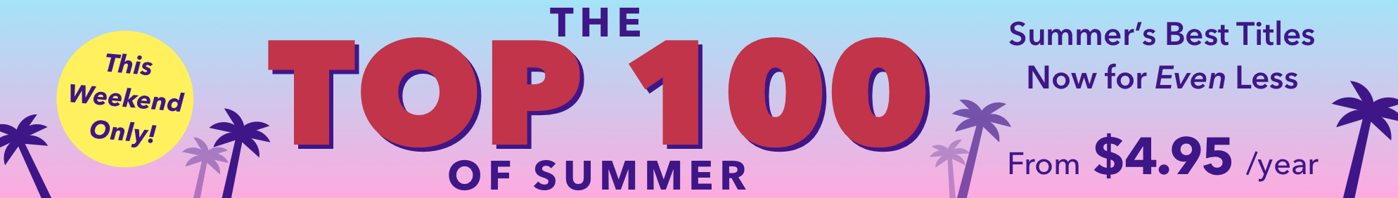 Top 100 Sale August 2018