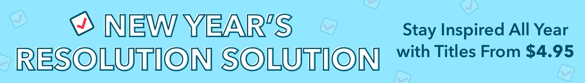 The Resolutions Sale 2019
