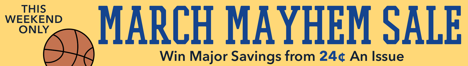 The March Madness Sale 2019