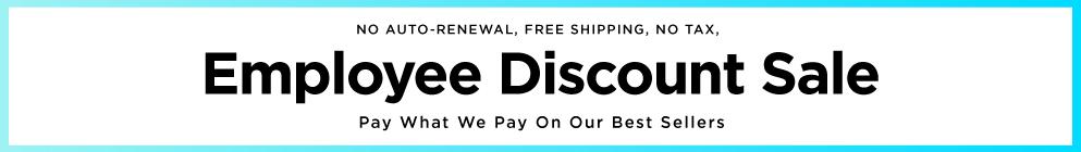 Employee Discounts!