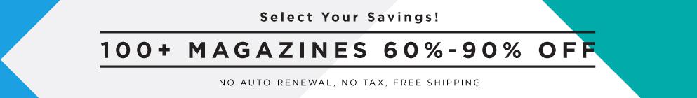 Select Your Savings!