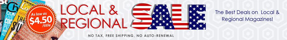 Local & Regional Sale