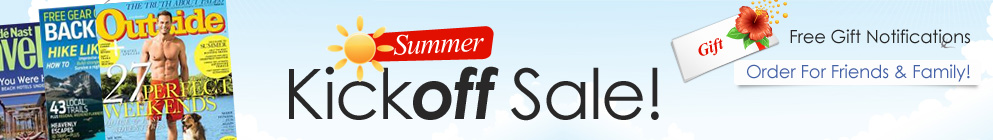 Summer Kickoff Sale!