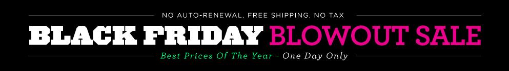 Black Friday 2015 Blowout Sale! (Blogger Safe)