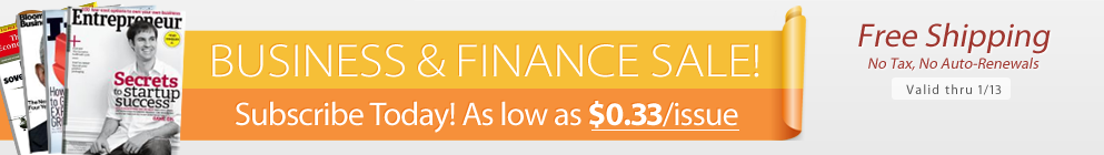 Business & Finance Sale!