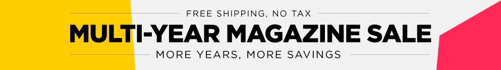 Multi-Year Sale- March