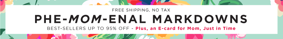 Mother's Day Sale 2016