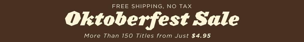 Oktoberfest 2016 Sale