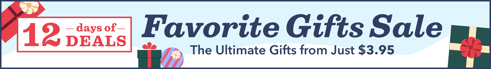 Favorite Gifts Sale 2018