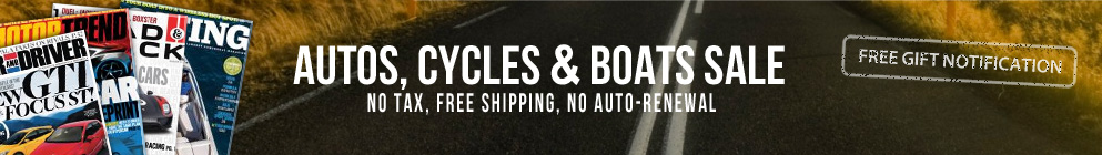 Autos, Cycles & Boats Sale!