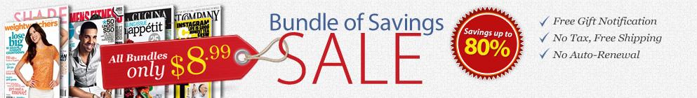 Bundle of Savings Sale!