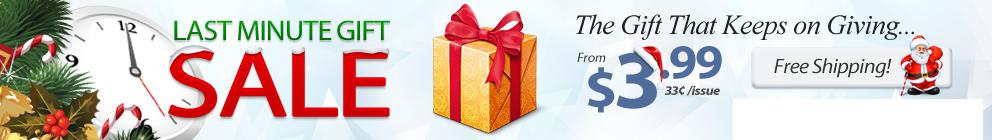 Last-Minute Gift Sale!