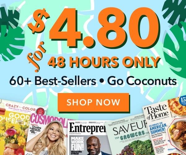 $4.80 Magazine Deals