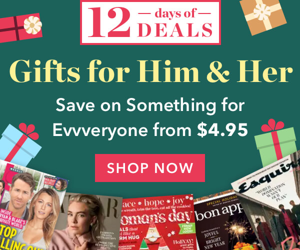 🎁Magazine Gifts for Him & Her