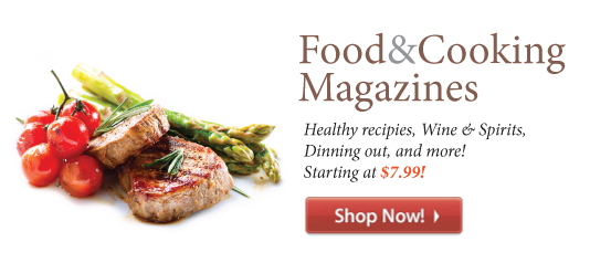 Food & Cooking Magazines