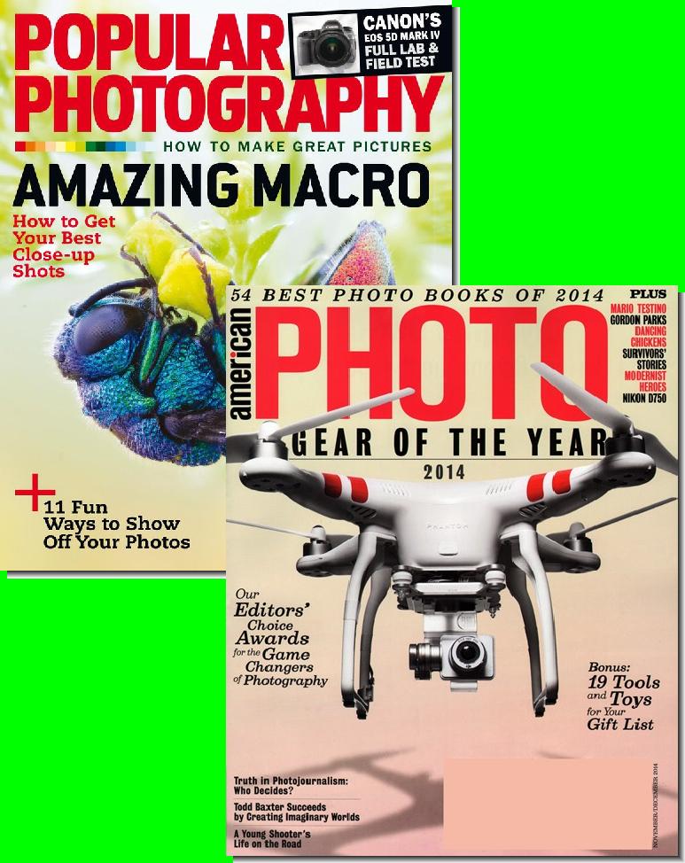 Popular Photo & American Photo Bundle