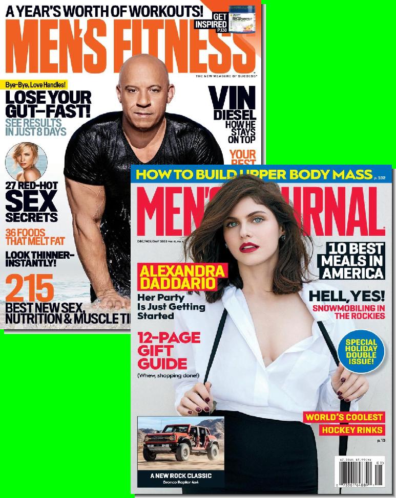 Men's Fitness & Men's Journal Bundle