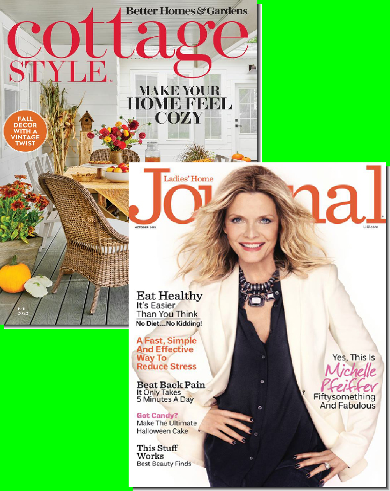 Better Homes & Gardens & Ladies Home Journal Bundle
