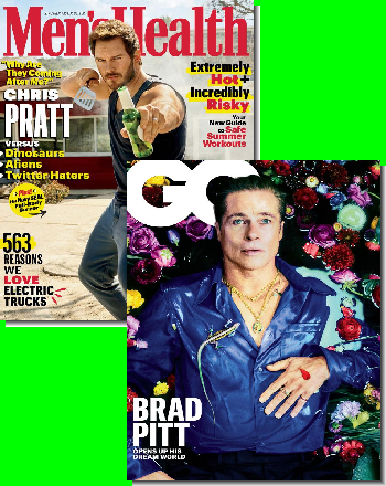 Men's Health & GQ Bundle