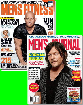Men's Fitness & Men's Journal Bundle
