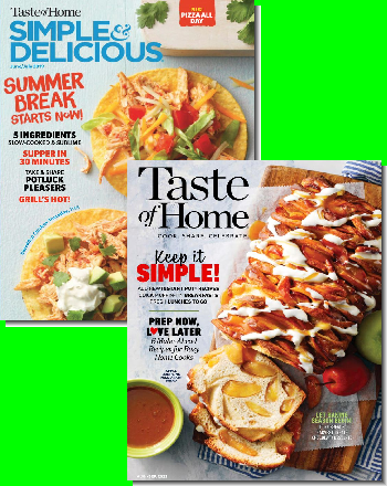 Taste of Home & Simple & Delicious Bundle