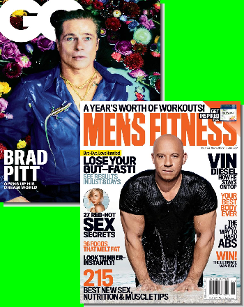 GQ & Men's Fitness Bundle