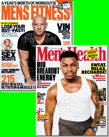 Men's Fitness & Men's Health Bundle