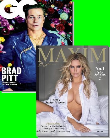 GQ & Maxim Bundle