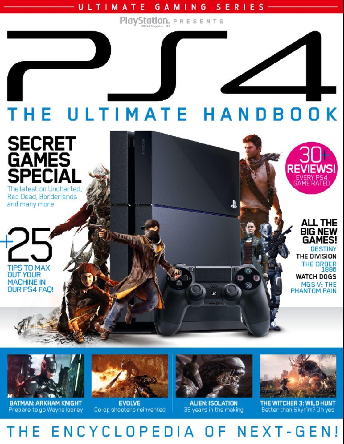 The Ultimate PS4 Handbook (Digital)