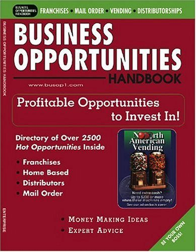 Business Opportunities Handbook Magazine