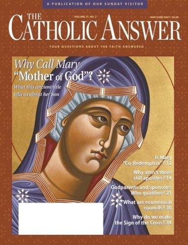 The Catholic Answer Magazine