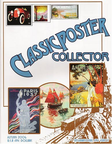 Classic Poster Collector Magazine