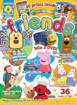 Fun To Learn Friends Magazine