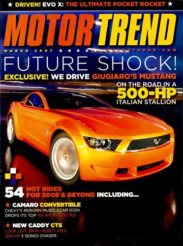 Motor Trend Magazine For Free The Street Sports Blog