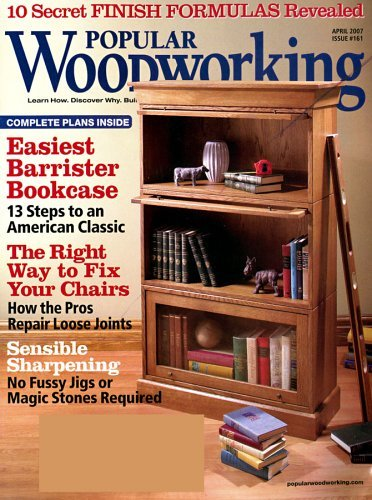 Popular Woodworking Magazine . (Home page, articles, reviews etc ...